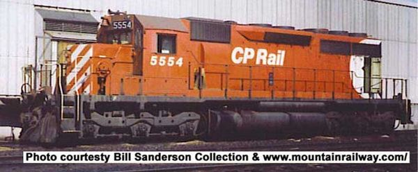 """Bowser Ho Scale SD40 CP Rail 8"""" Stripes Large Multimark W Ditchlights DCC Ready *Pre-order*"""