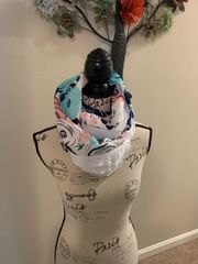 Hand sewn neck scarf