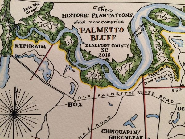 The Historic Plantations which now comprise Palmetto Bluff