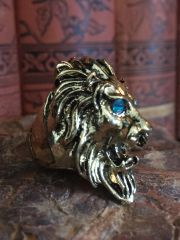 Classic Gothic Lion Ring