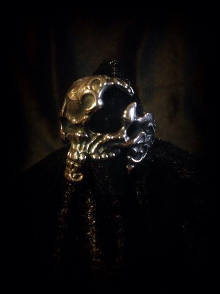 Partial Skull Ring