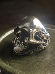 Screaming Skull Ring