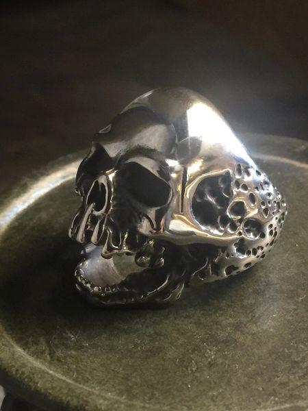 Screaming Skull Ring