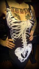 Skeleton Punk Dress