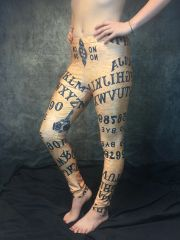 Ouija Board Print Leggings