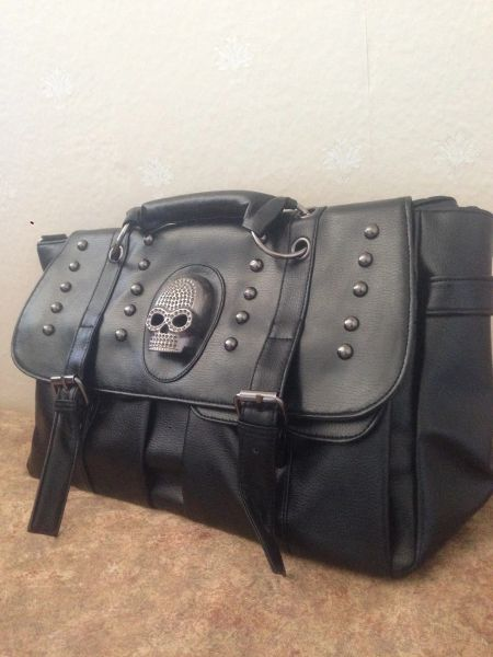 Skull Office Bag