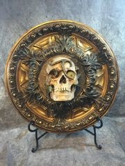 Sold Skull Centerpiece