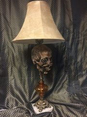 Sold Replica Headhunter Skull Lamp