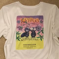 Shirt - Ladies V-neck Love Bug Shirt - 2 Colors