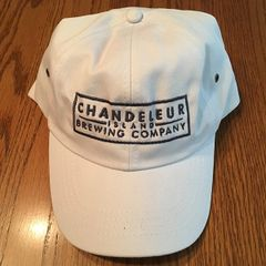 Hat - White With Gray Logo