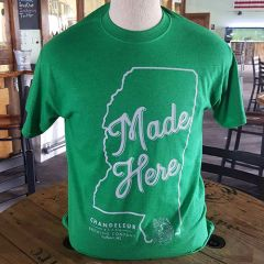 "Shirt - ""Made Here"" - Green"