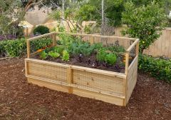 OLT Cedar Raised Garden Bed Kit 3' x 6'