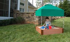 Composite Square Sandbox Kit 4ft. X 4ft. X 11in. (2 inch profile)