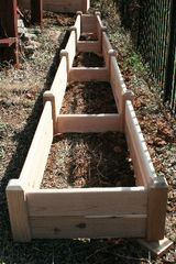 "2'x16' - 11"" high Cedar Raised Garden Bed by Marleywood"