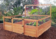 Maine Kitchen Garden - 8'x8' Raised Bed Garden
