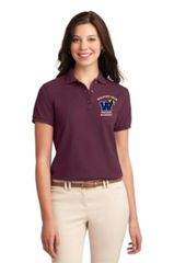 Precision Machining Ladies Short Sleeve Polo