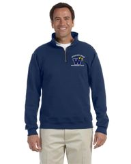 Engineering Technology (CADD) 1/4 Zip Pull Over Sweatshirt