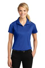 Health Technology Ladies Short Sleeve Wicking Polo