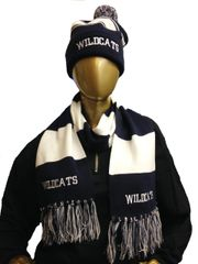 Wildcats Scarf and Beanie Bundle