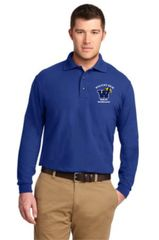 Health Tech Men's Long Sleeve Polo