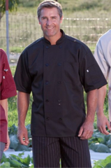 Culinary Short Sleeve Chef Coat