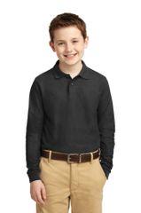 Youth Academic Long Sleeve Polo