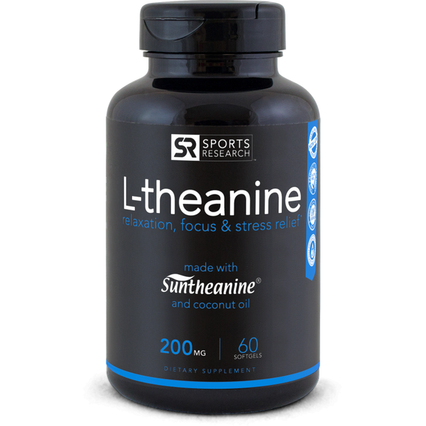 L-Theanine Suntheanine® (200mg) - 60 softgels