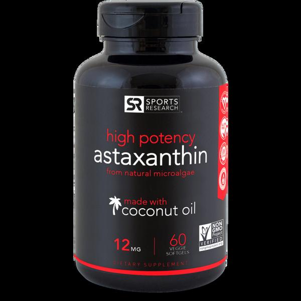 Astaxanthin 12mg 60 softgels