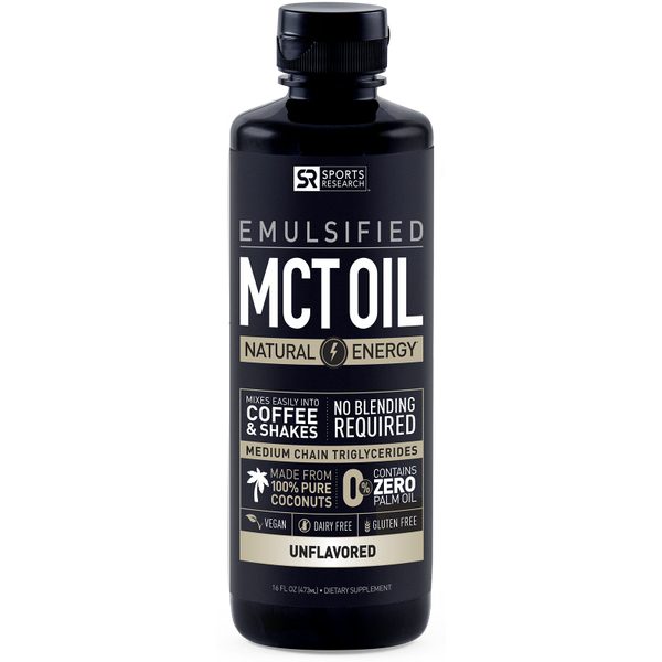 Emulsified MCT Oil - Unflavored
