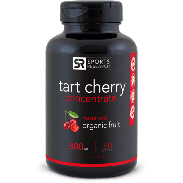 Tart Cherry Concentrate (800mg) - 60 softgels