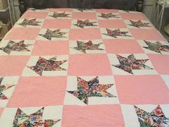 Hand Pieced Quilt - Basket