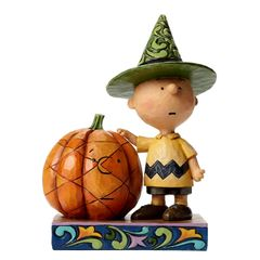 It's Halloween Charlie Brown - Charlie Brown with Pumpkin