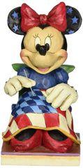 Old Glory - Americana Minnie Figurine