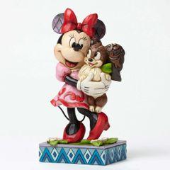 Furrever Friends - Minnie with Dog Figuriene