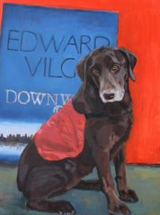 Dog Commission in Oil