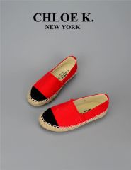 Red Paradise canvas espadrilles