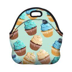 blue cupcake lunchbox