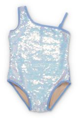 Shade Critters - Sequin Flip One shoulder Swimsuit