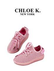 Pink 'LUXE' Sneaker