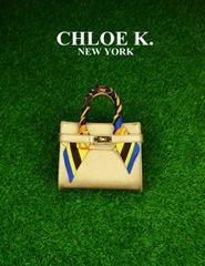 GOLD 'VICTORIA' BAG