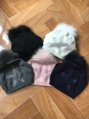 Slouchy Star Hats