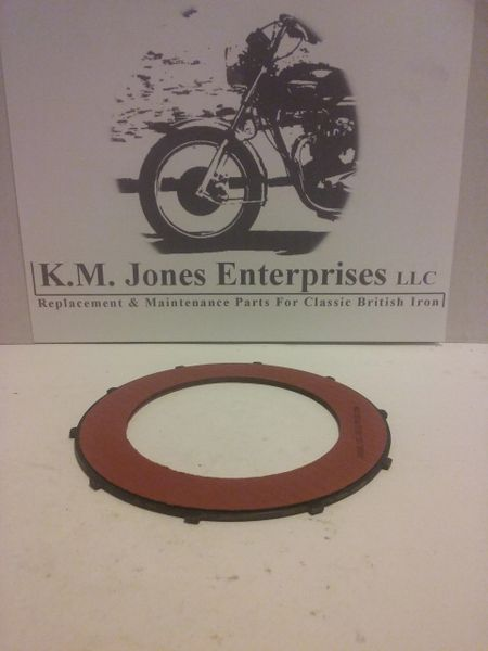 57-4763 / 57-1362, Clutch Plate, Fiber, Friction, HD, Made in USA. (T1362)