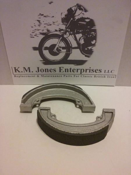 37-3925/6 (W3925), Brake Shoe, Rear, Set, Made in Taiwan (EMGO)