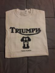 Triumph T-Shirt w/K.M. Jones Enterprises logo on back (KMJ019)