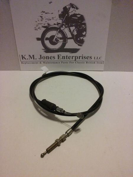 60-1993H / D3079, Clutch Cable, Heavy Duty, 650's 1968-72