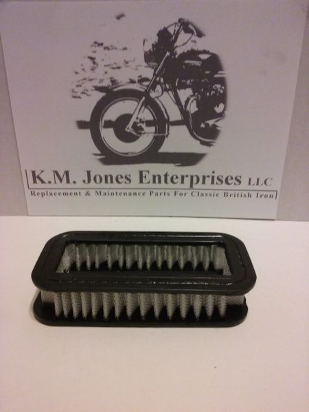 60-3072 / D3072, Air Filter Element, 1971-72, Triumph OIF, Made in UK