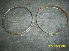 49-51 head light inner ring