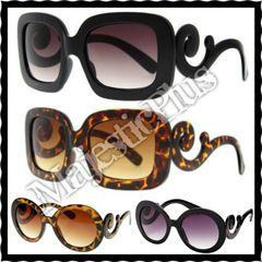 Prada Inspired Baroque Sunglasses