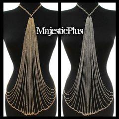 Body Chain Harness w/Symmetrical Triangle Design