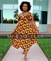 Babydoll Pixie Hem Dress